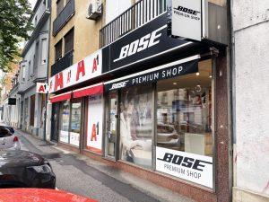 Bose ozvučenje - show room - Maksimirska 45